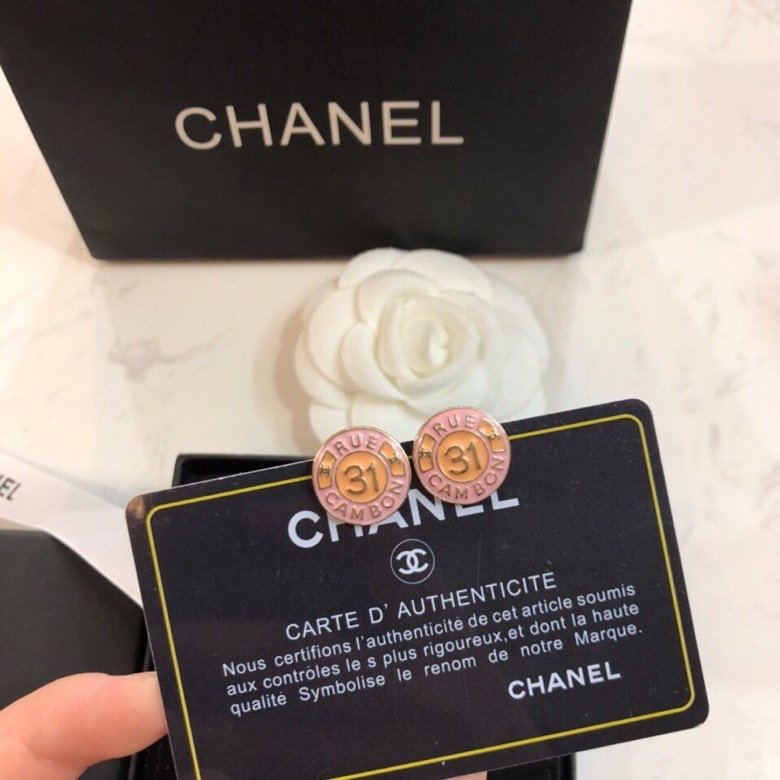 专柜同步新款香奈儿耳钉耳环时尚设计透