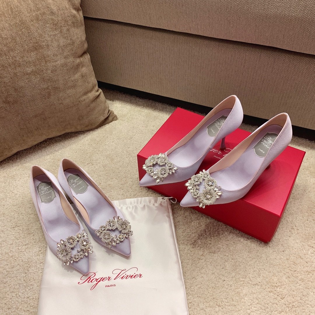 【RV】Bouquet Strass花簇钻扣高跟鞋