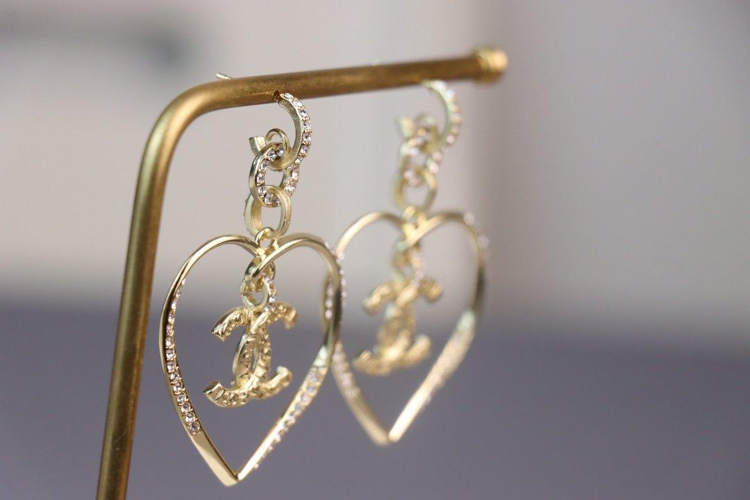 新款爱心耳环最高版本购买正品定制原版