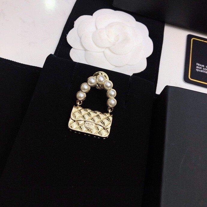 胸针/耳钉Chanel新款系列原版黄
