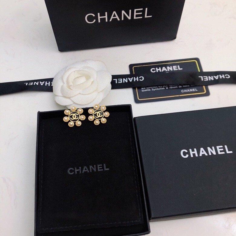 Chanel香奈儿新款耳钉高端优雅超