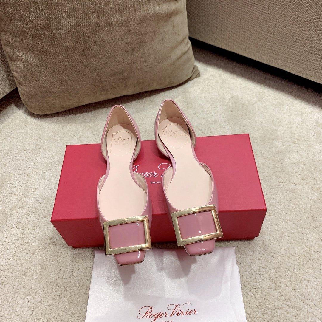 【RV】Trompette金属方扣芭蕾舞单鞋