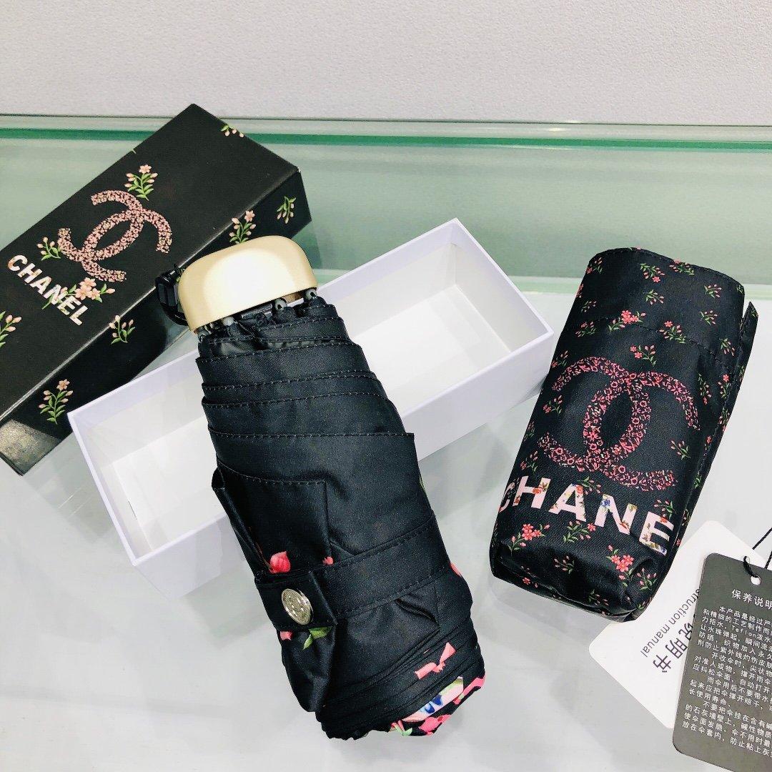 CHANEL香奈儿五折口袋伞浪漫节日