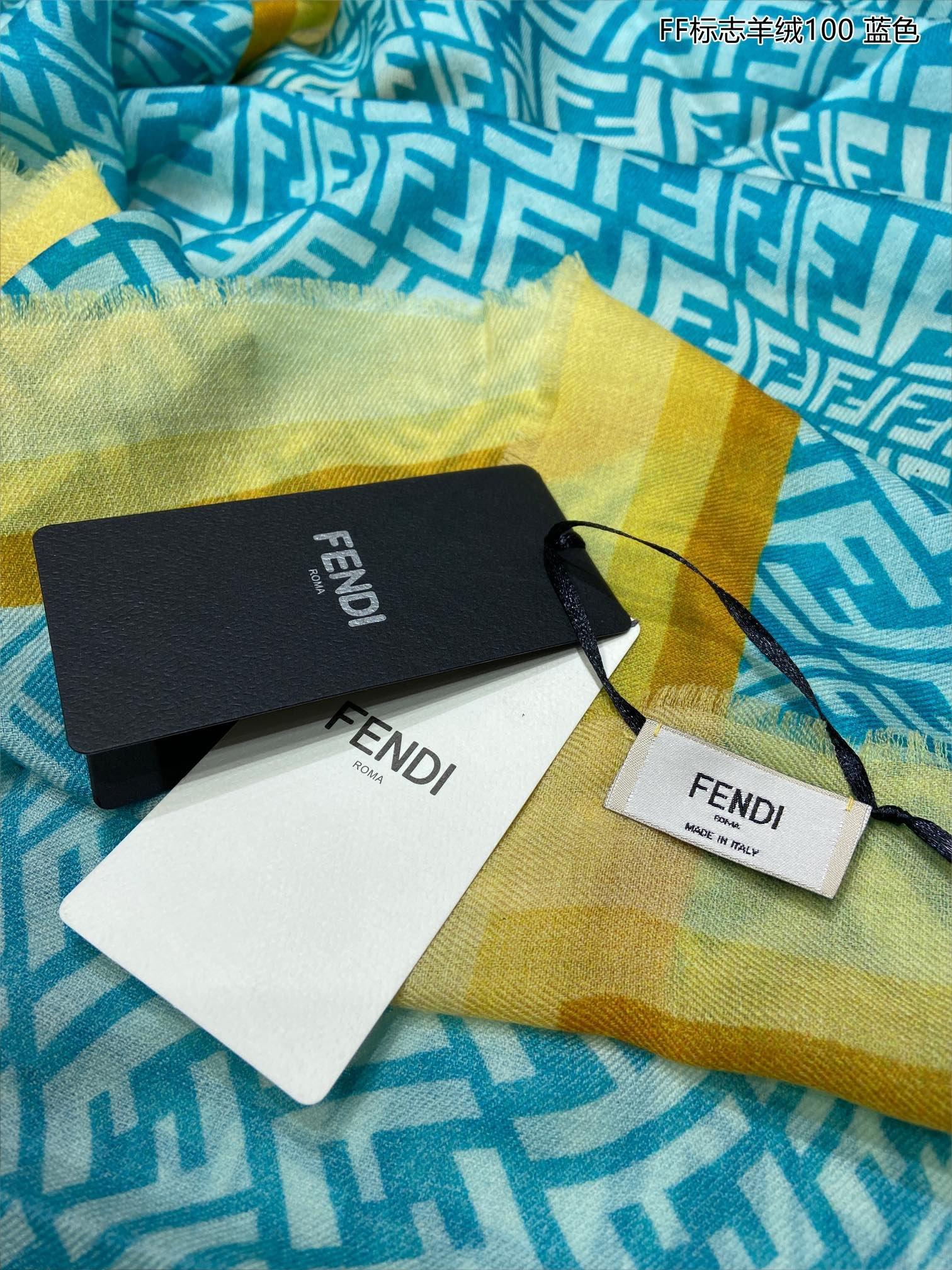 上新FD专柜同步新款FF标志羊绒10