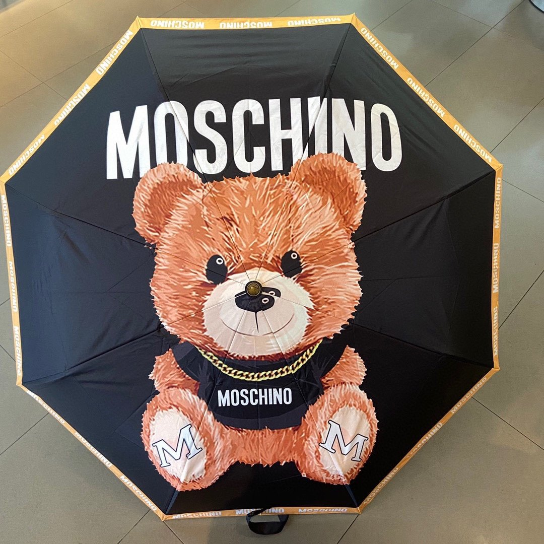 Moschino莫斯奇诺三折自动伞设