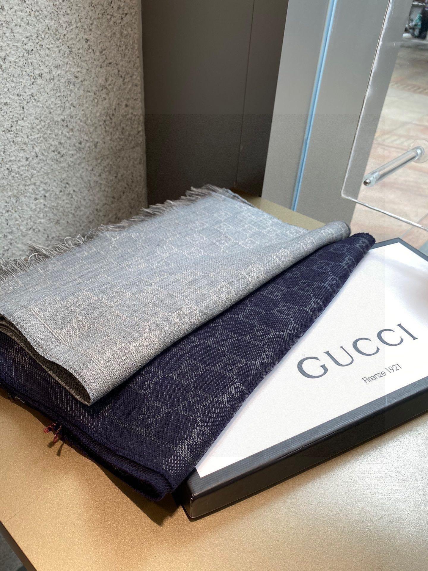 免代购的围巾一模一样Gucci重磅极