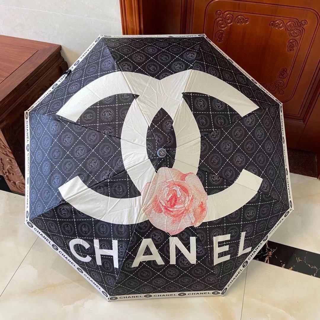 CHANEL香奈儿经典山茶花双C款三