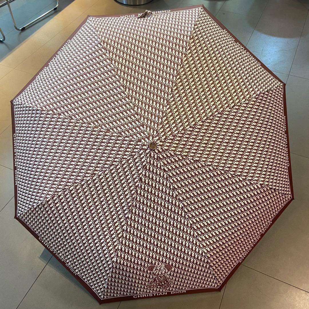 DIOR迪奥迪奥熊三折自动折叠晴雨伞