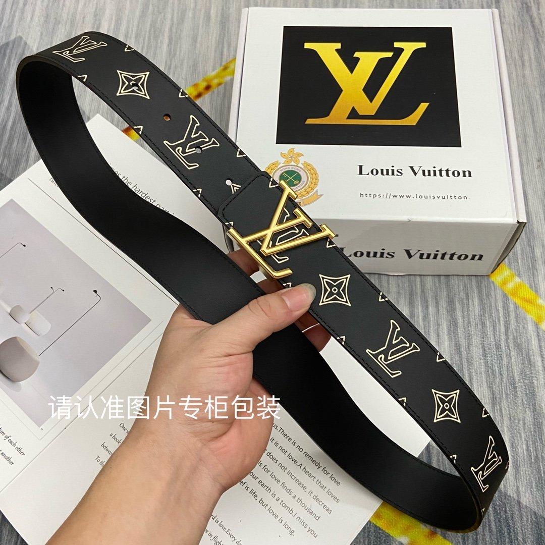 品牌LV路易威登原单皮带腰带双面使用