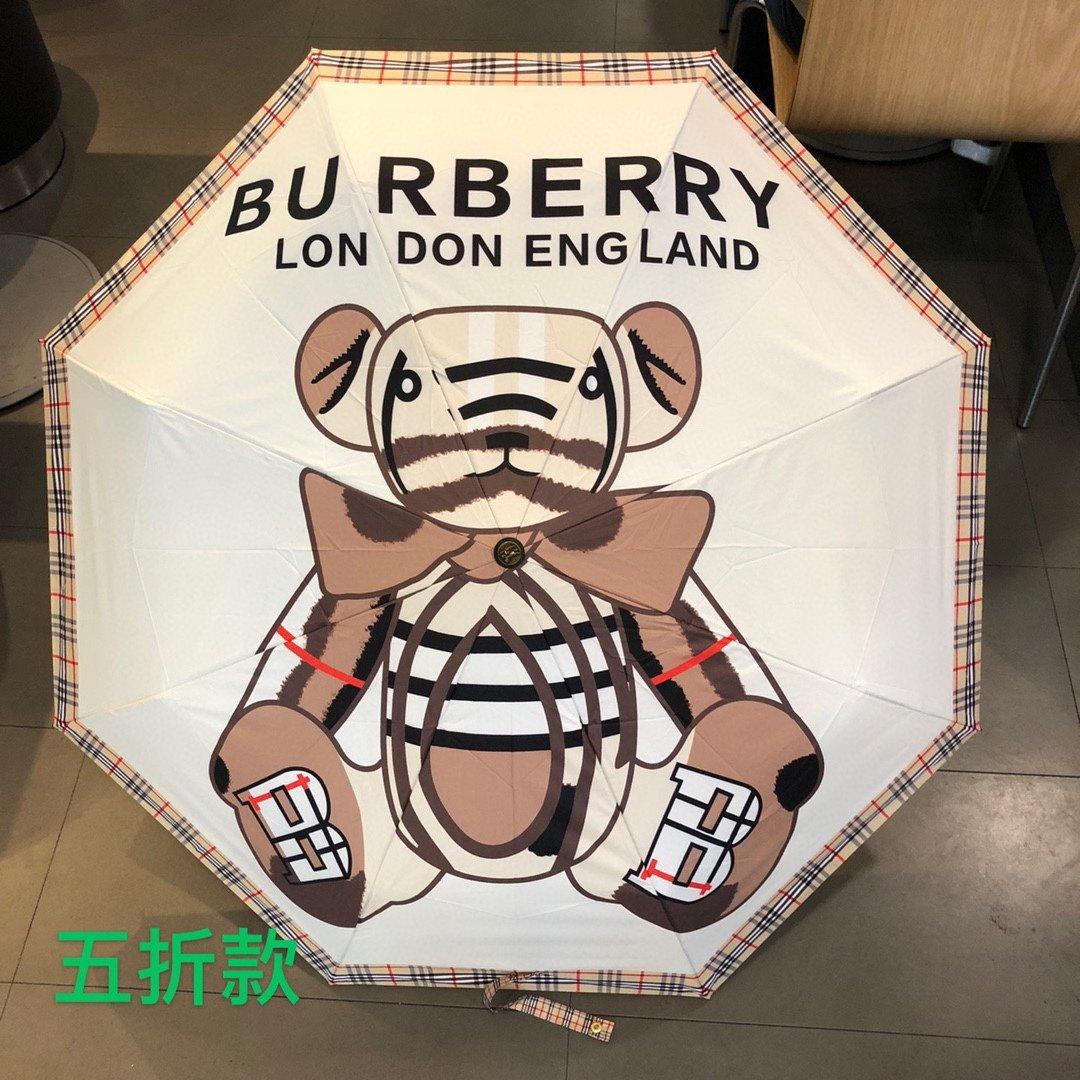 BURBERRY巴宝莉五折手开睛雨伞