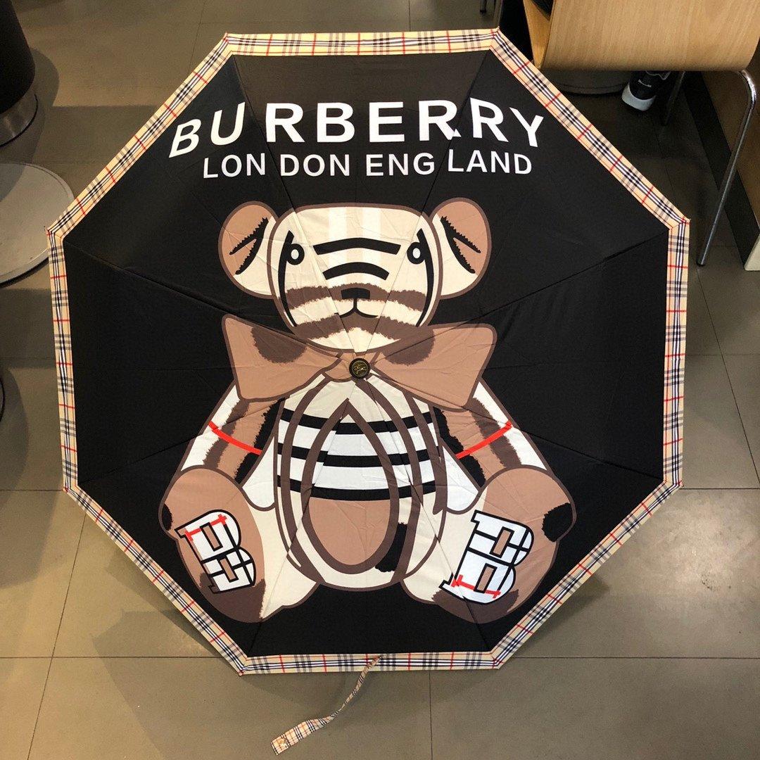 BURBERRY巴宝莉三折自动折叠晴