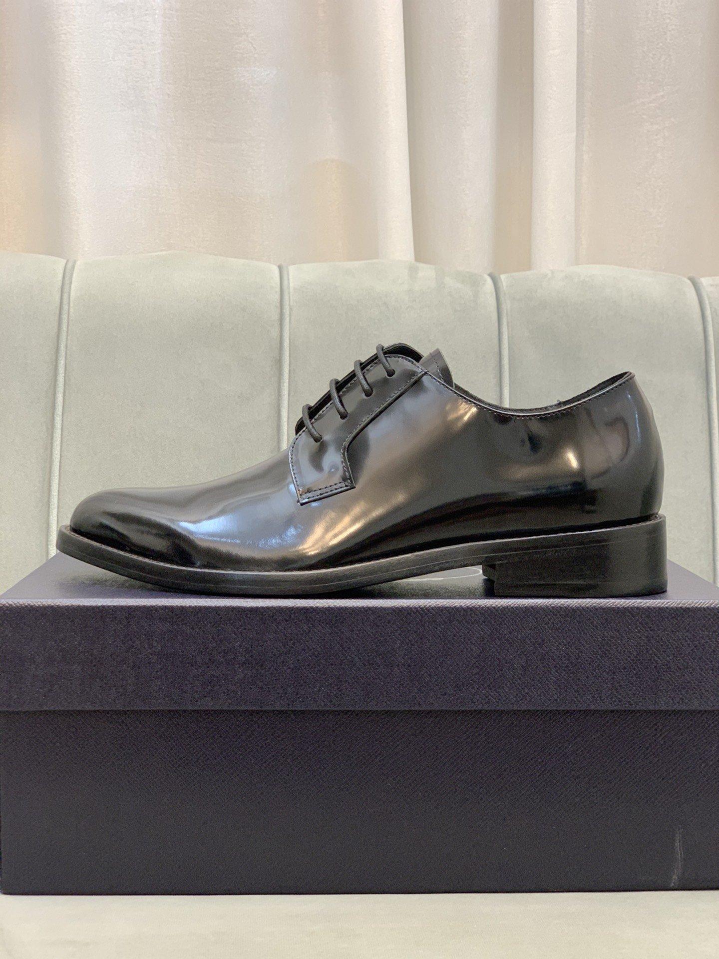 顶级原单品质Prad*普拉*皮鞋正码