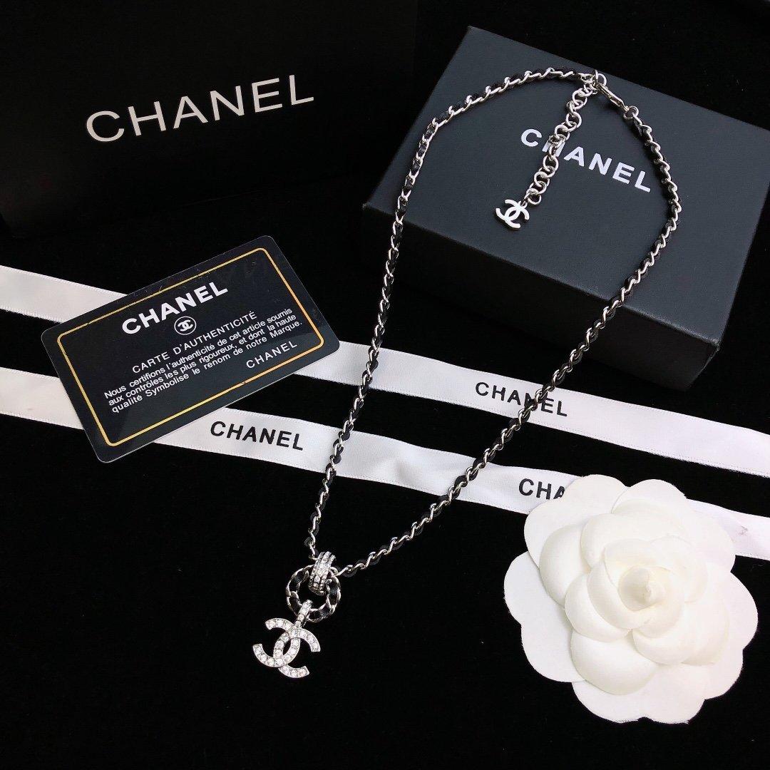 Chanel香奈儿中古双C项链小香家