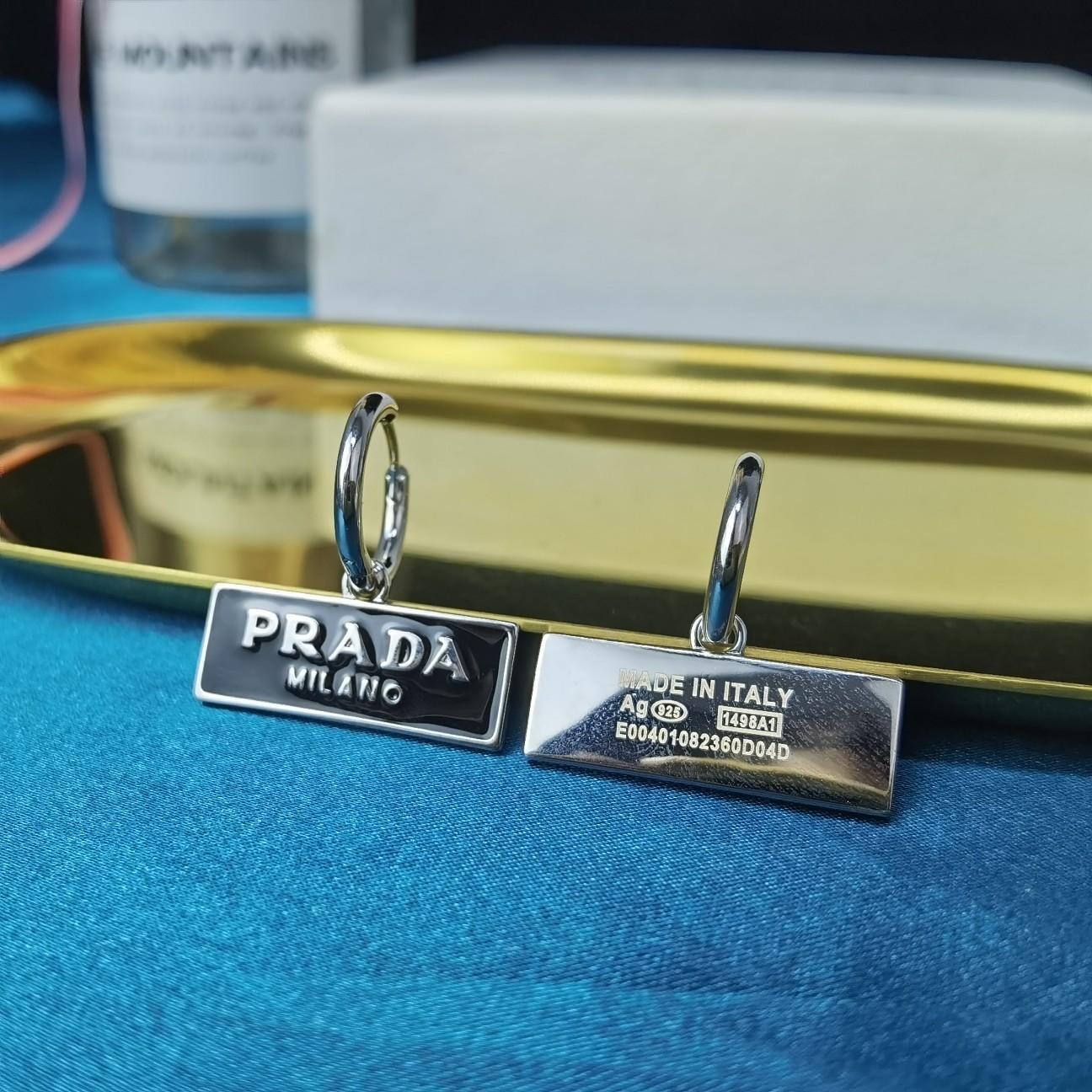 项链耳环-10PRADA普拉达耳钉爆