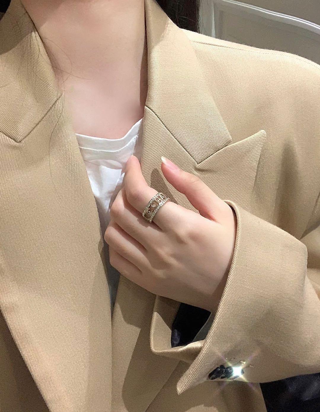 CHANEL小香字母戒指高端品质专柜