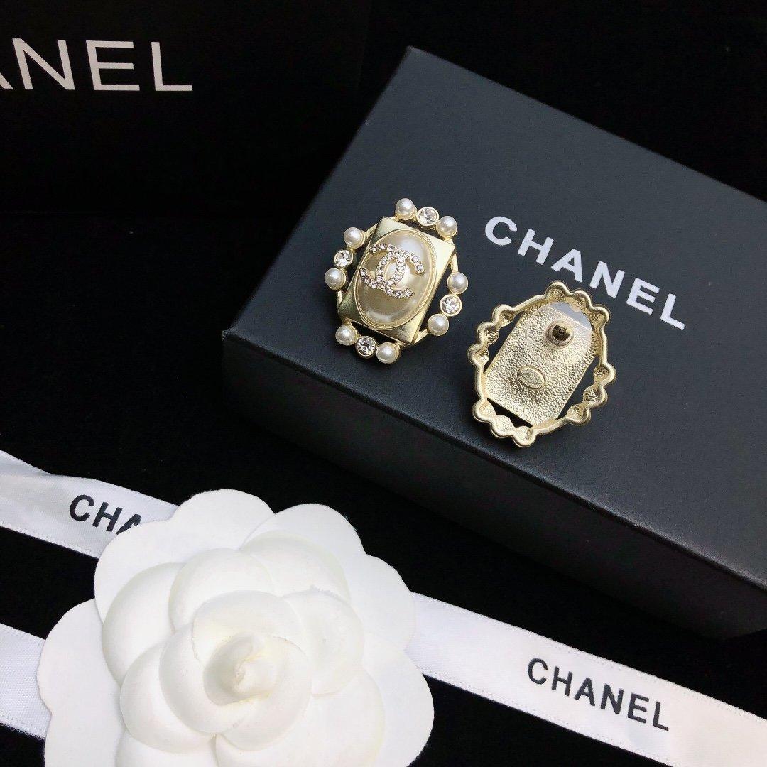 Chanel香奈儿小香流苏耳钉耳环新