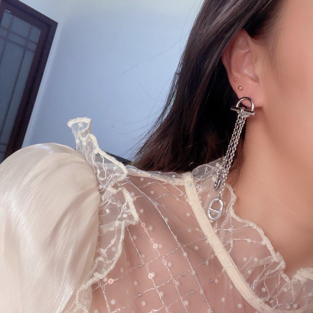 迪奥镂空耳钉Dior耳钉本季度最火爆