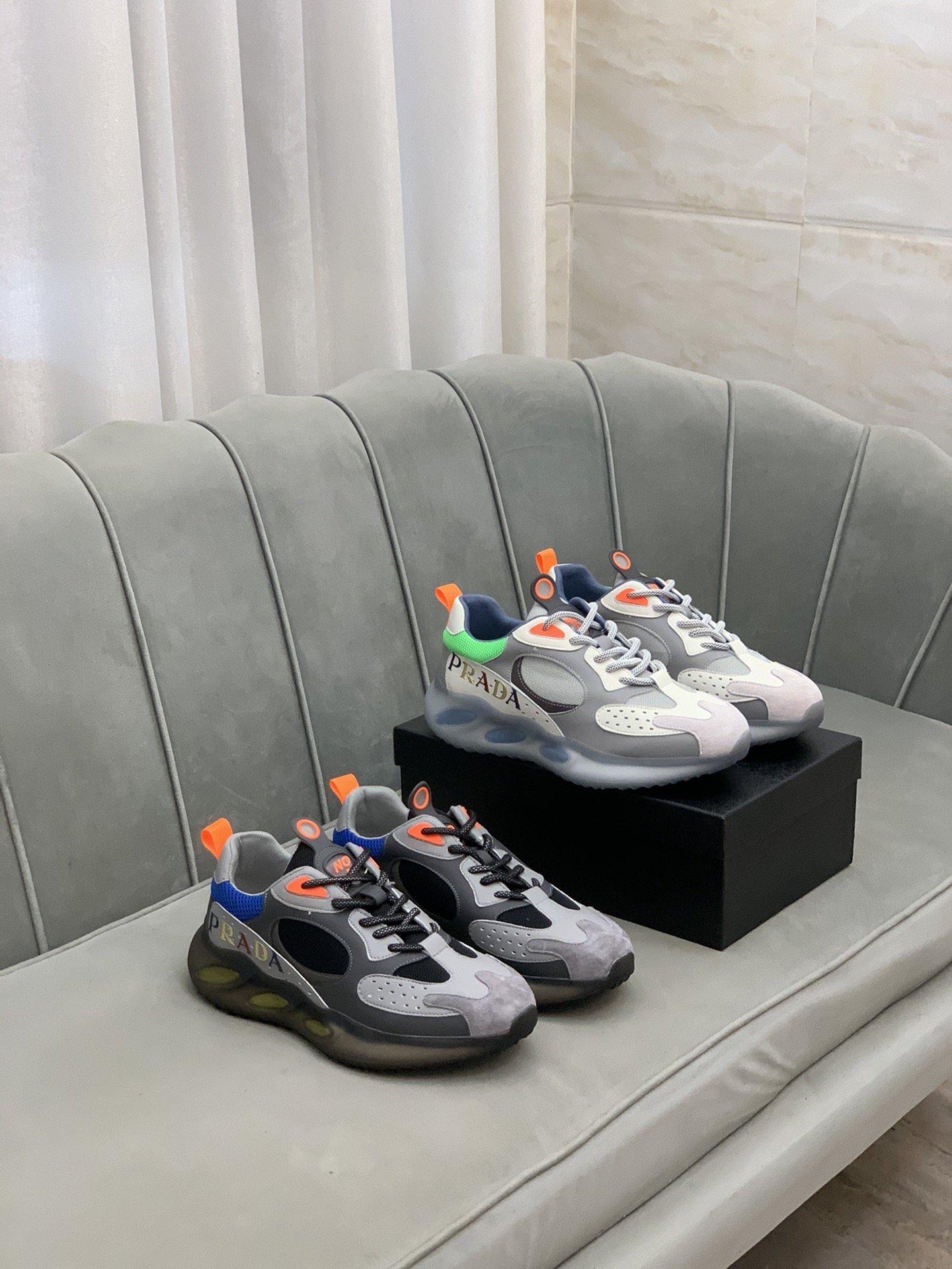 Prad*普拉*]低帮运动鞋正码码数