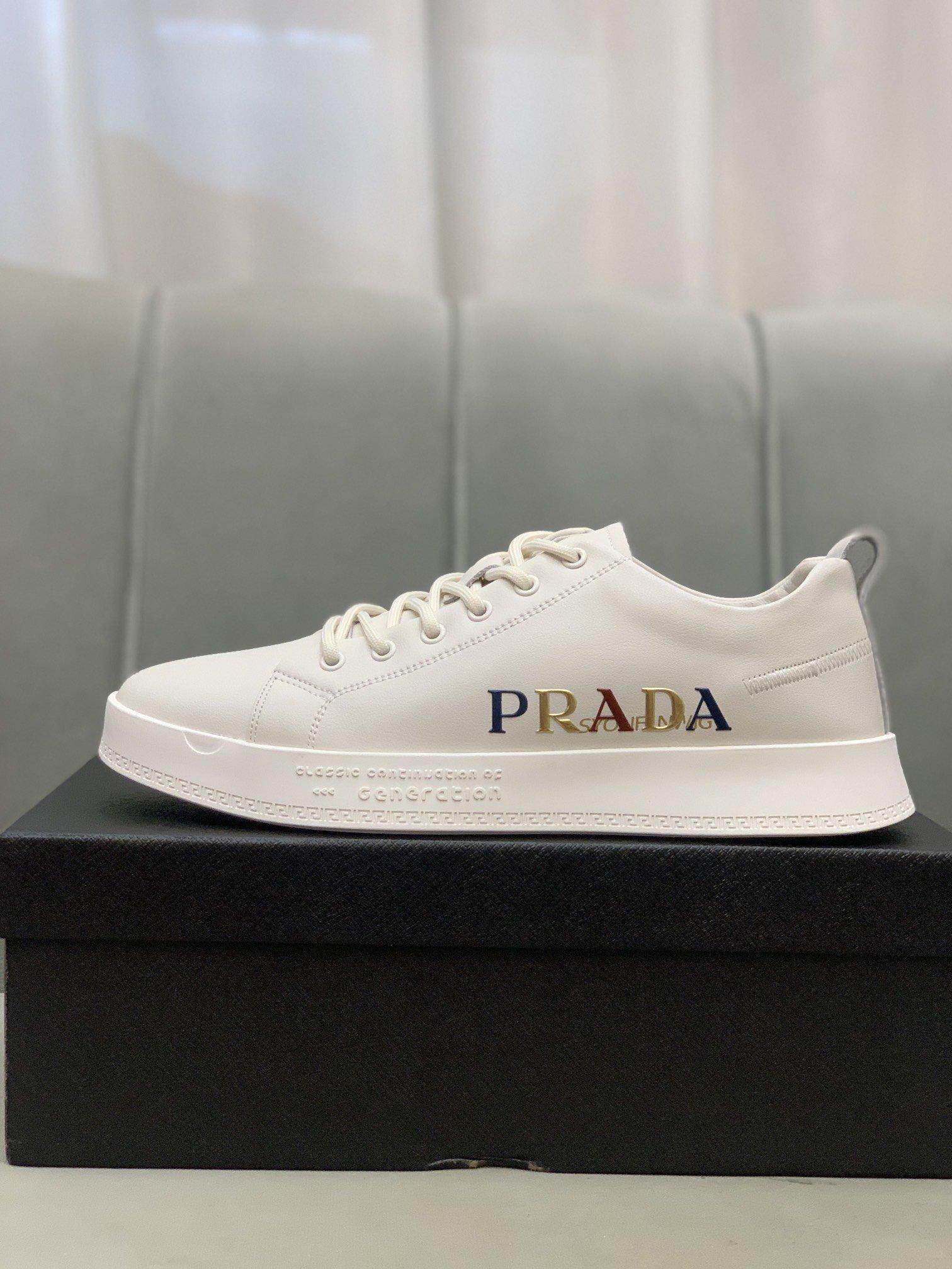 Prad*普拉*]低帮休闲鞋正码码数
