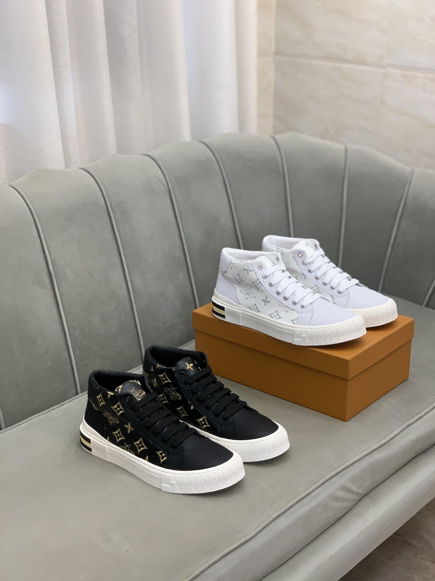 售价:LV*路易威*高帮休闲鞋正码码
