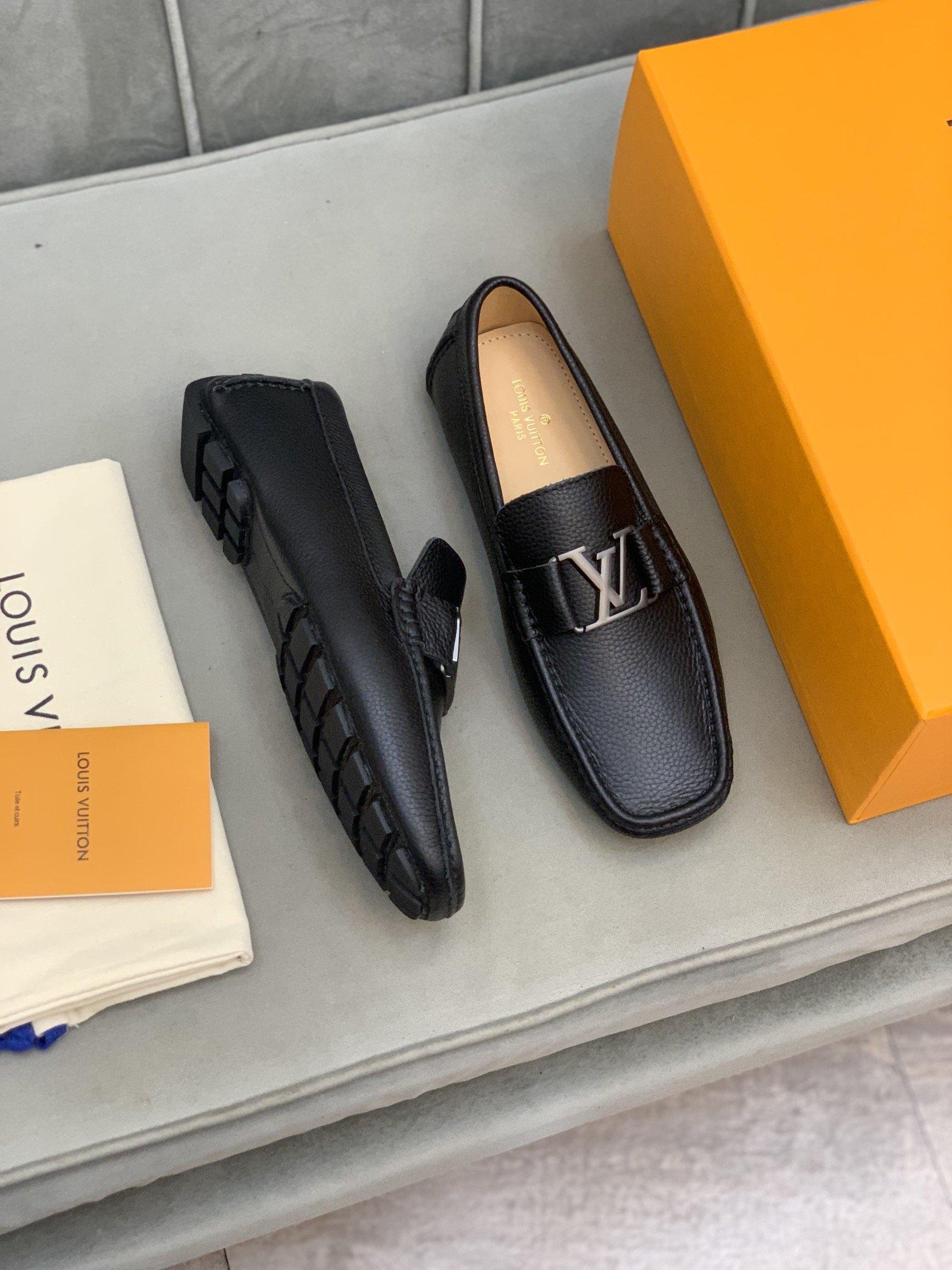 高端品质LV*路易威*豆豆鞋正码码数