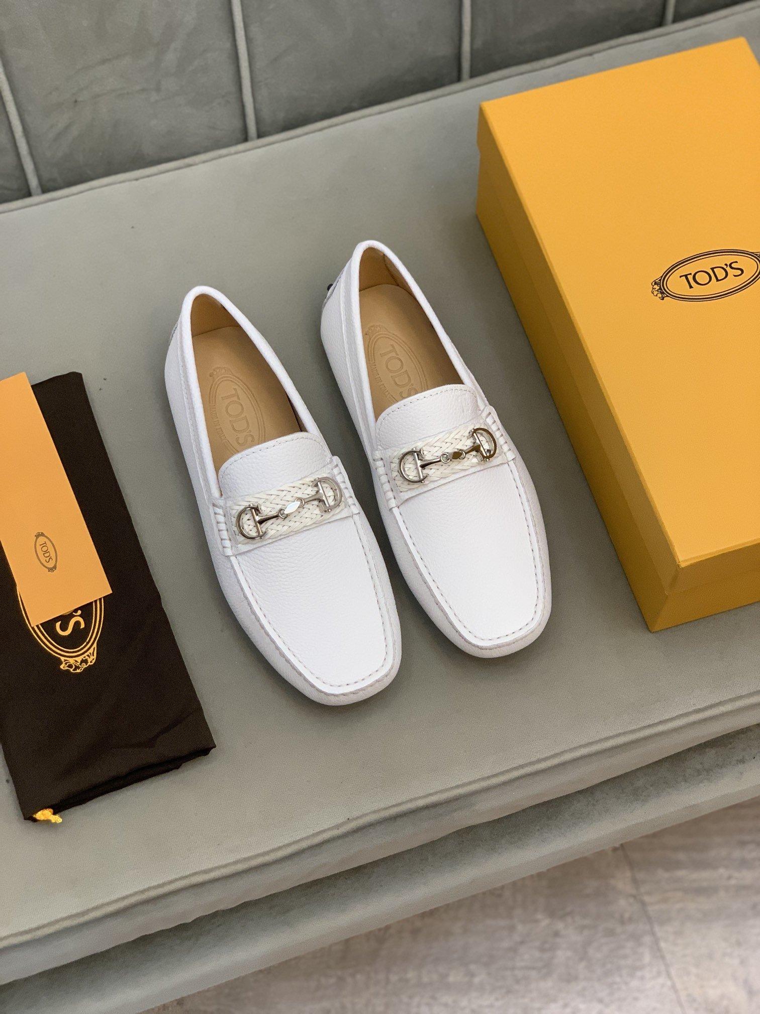 高端品质Tod*托德*豆豆鞋正码码数