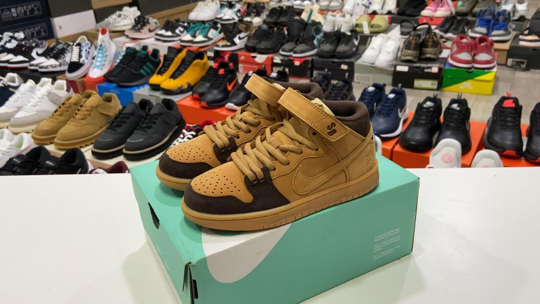 莆田鞋版本170童鞋耐克NikeDunkHigh高帮休闲运动