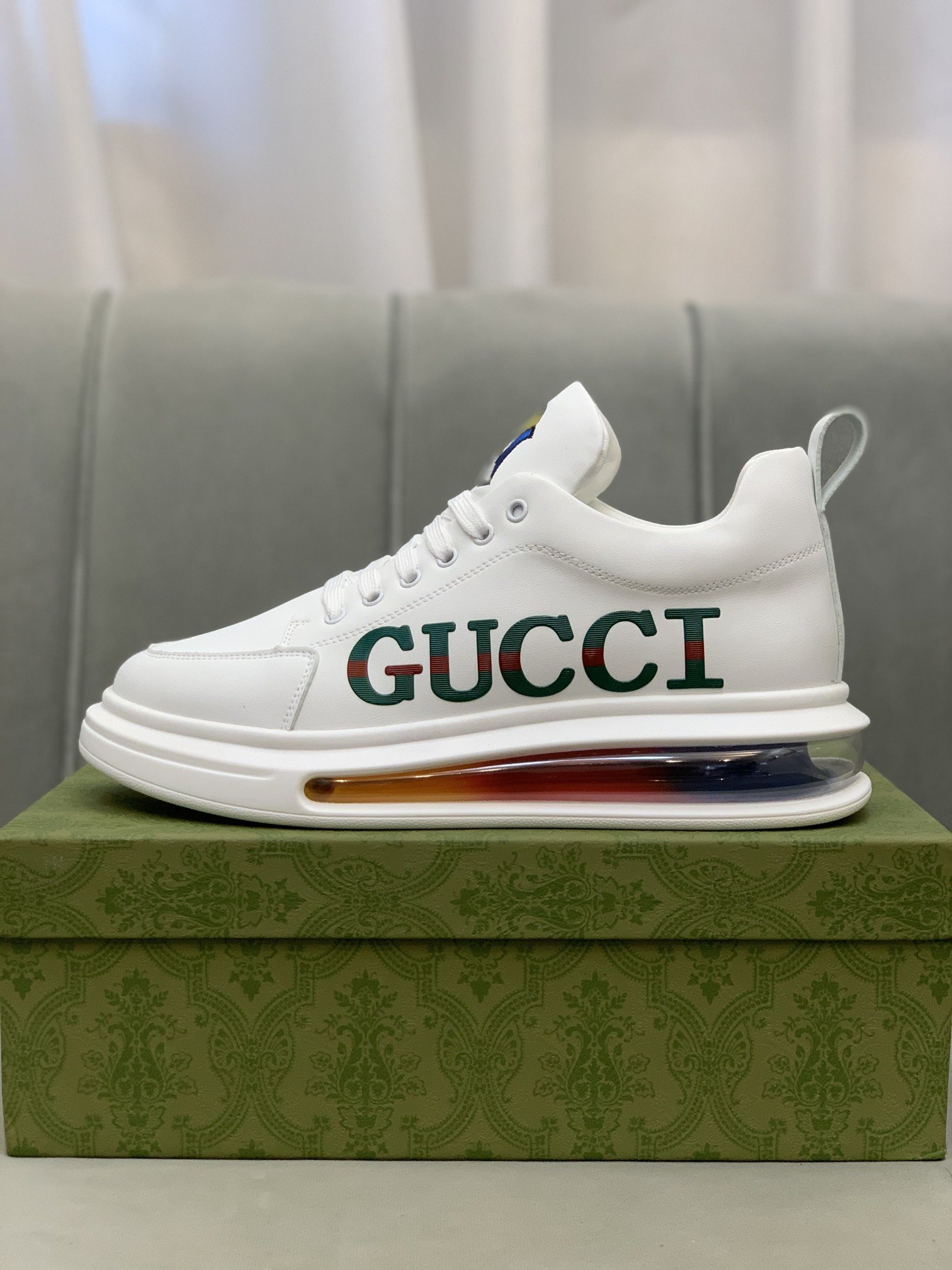 Gucc*古奇*低帮运动鞋正码码数: