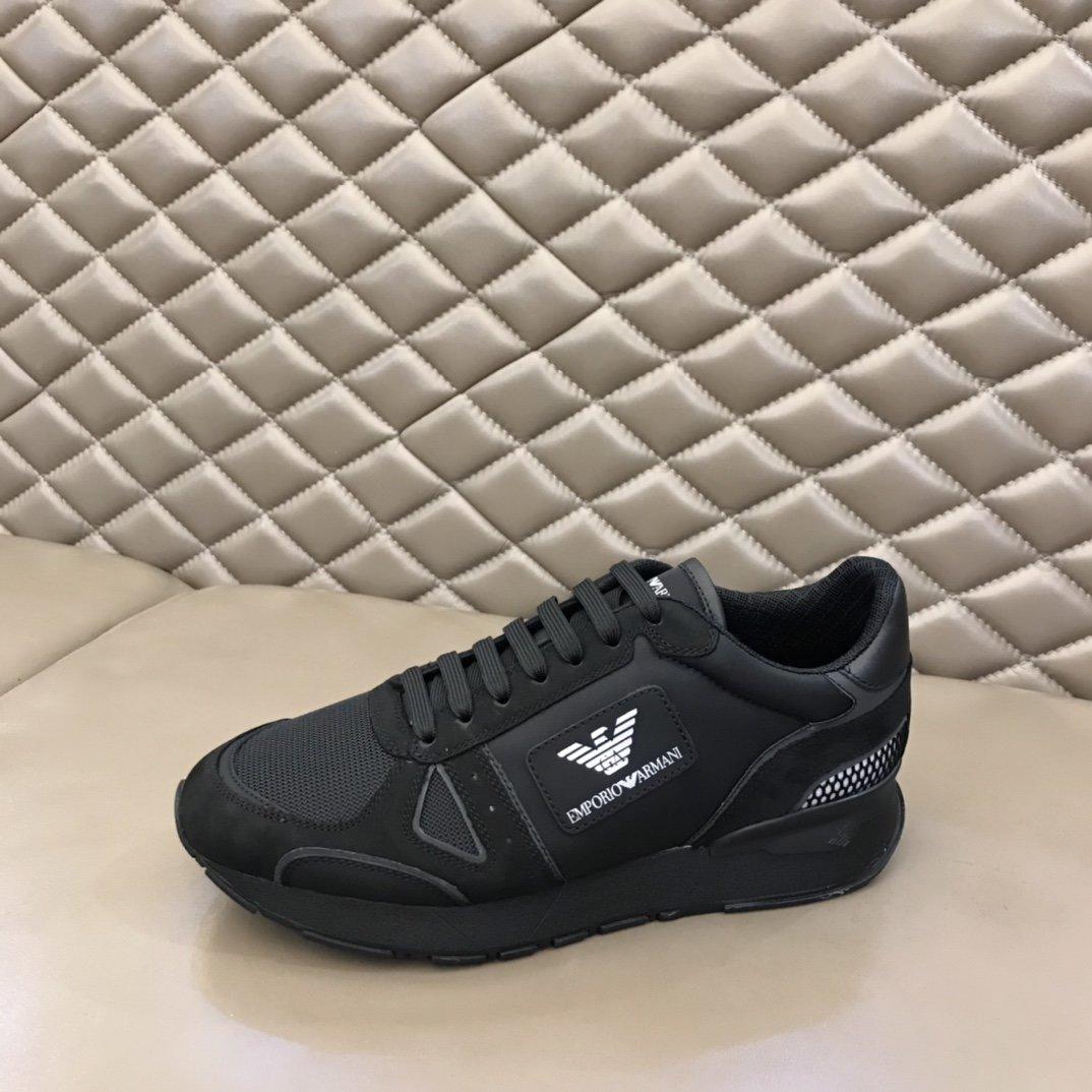 Armani阿玛尼新品奢潮运动鞋动感