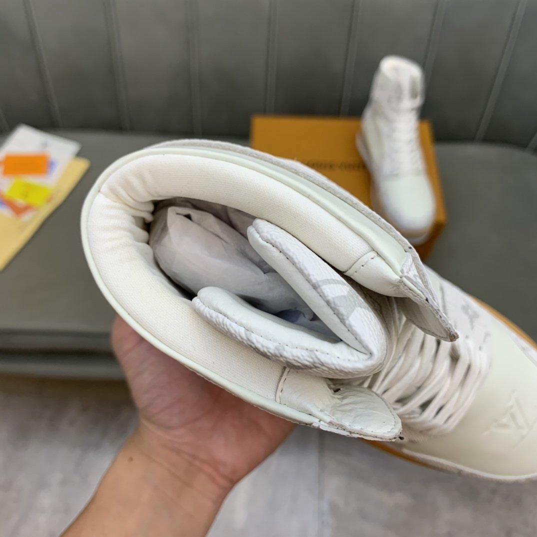 高端品质LV*路易威*高帮靴子正码码
