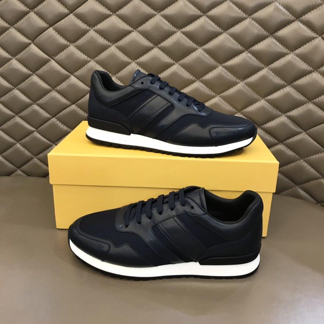 TodS新款男士休闲运动鞋意大利细纹