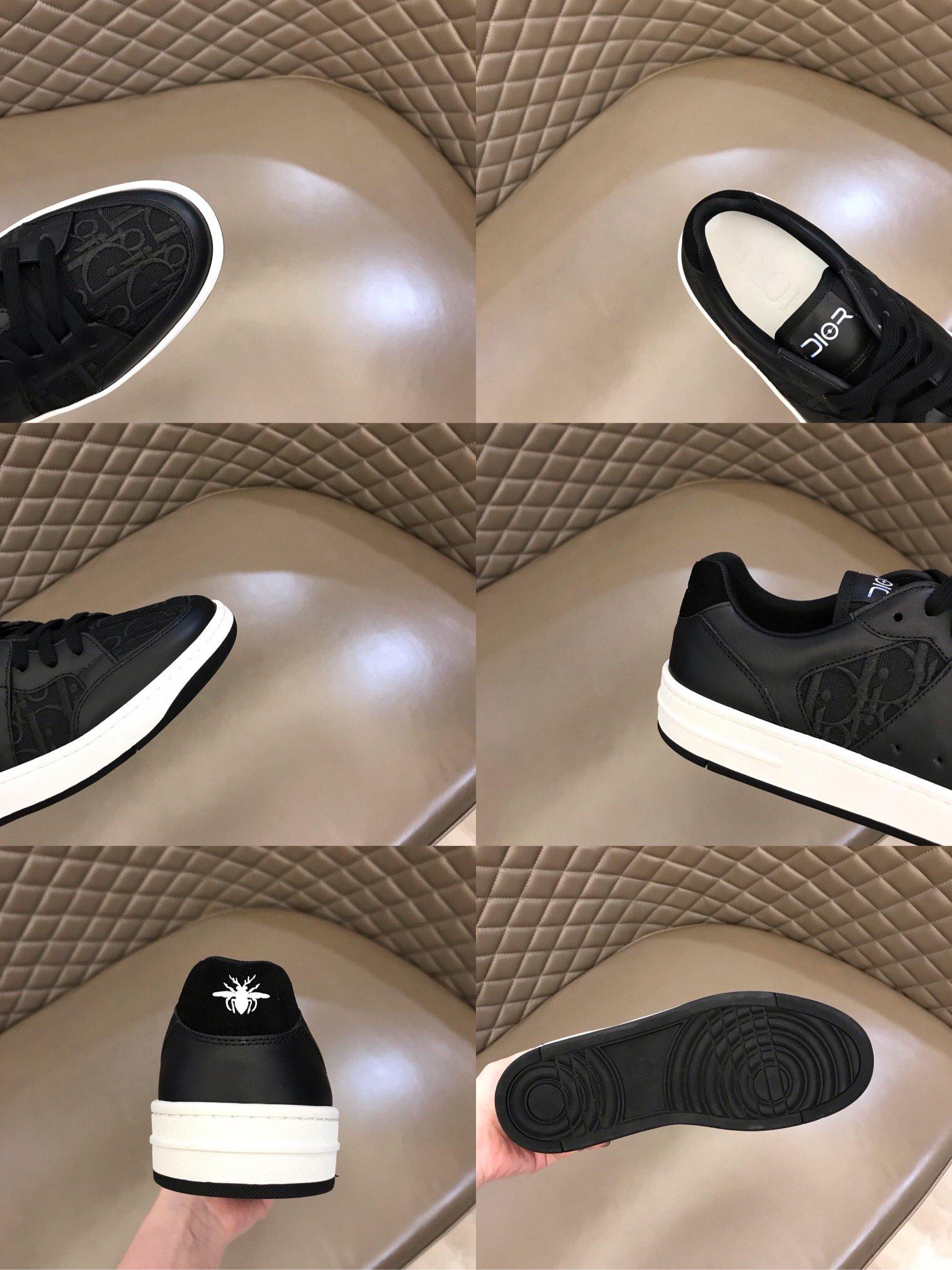 Dior低帮B02休闲运动鞋采用立体