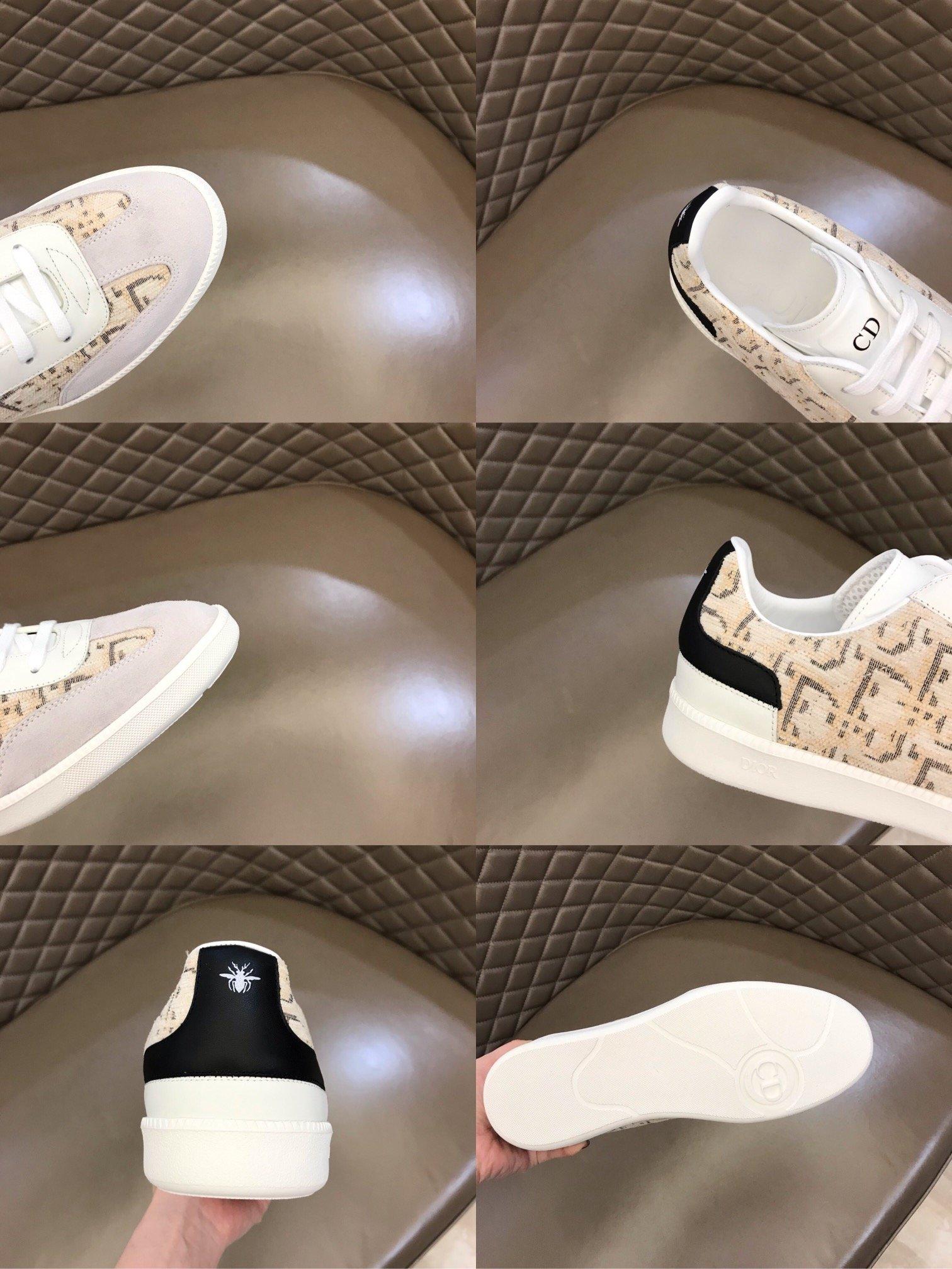 Dior新款B01运动鞋是D家经典单