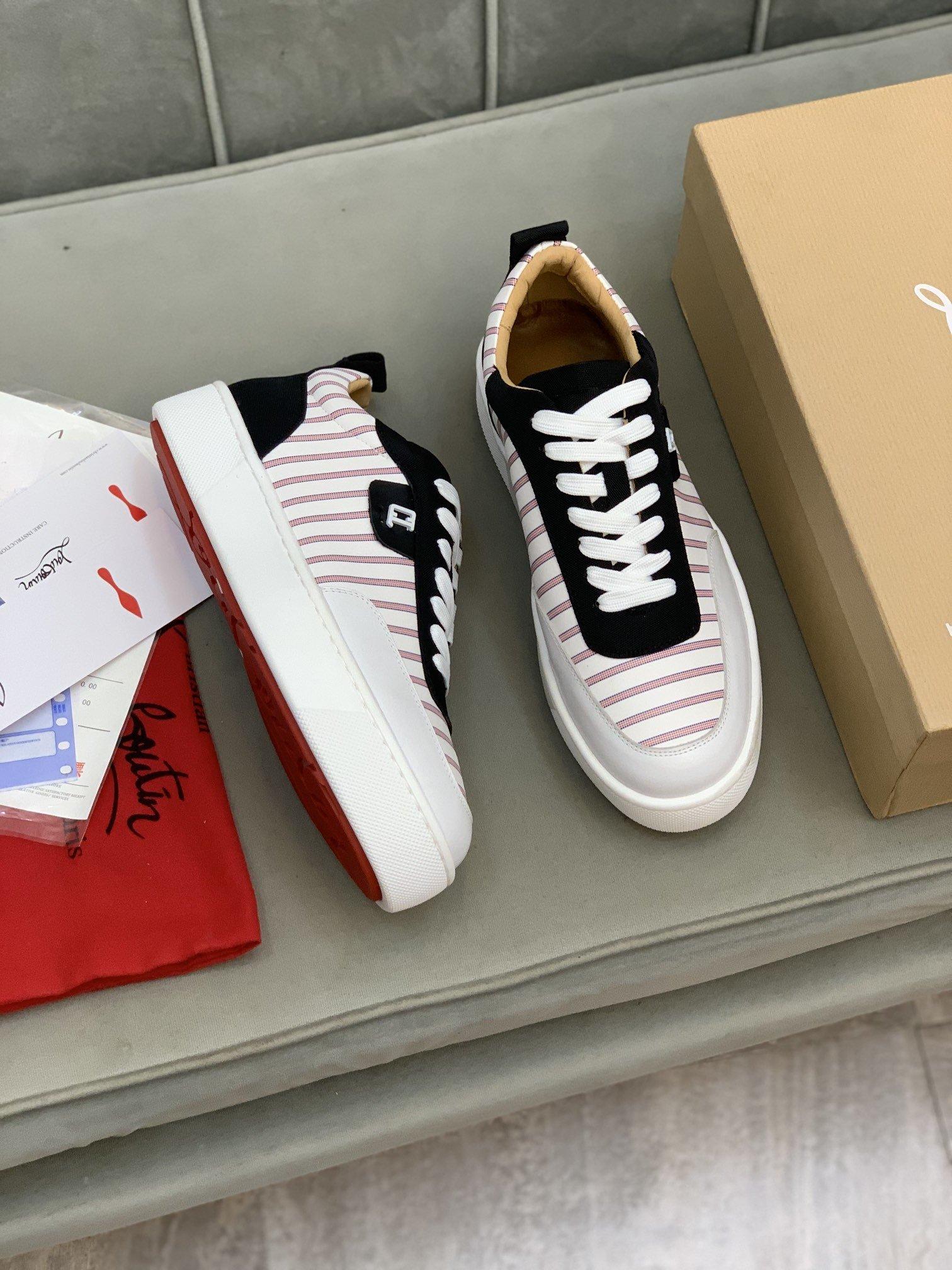 高端品质CLCL红底低帮休闲鞋正码码