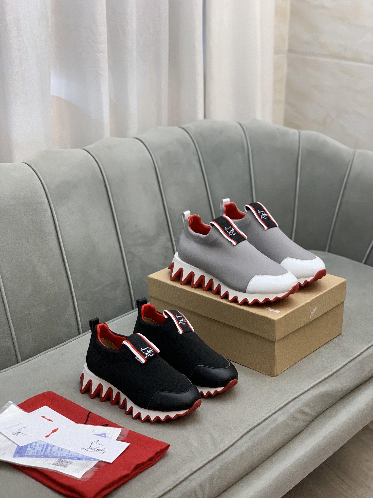 高端品质CLCL红底低帮运动鞋正码码