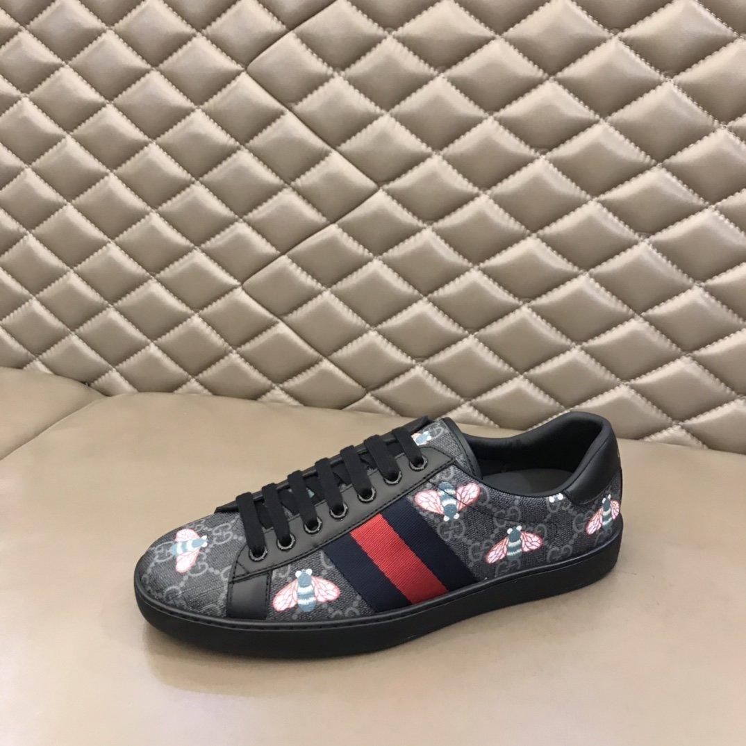 Gucci经典小白鞋系列代购级别媲美