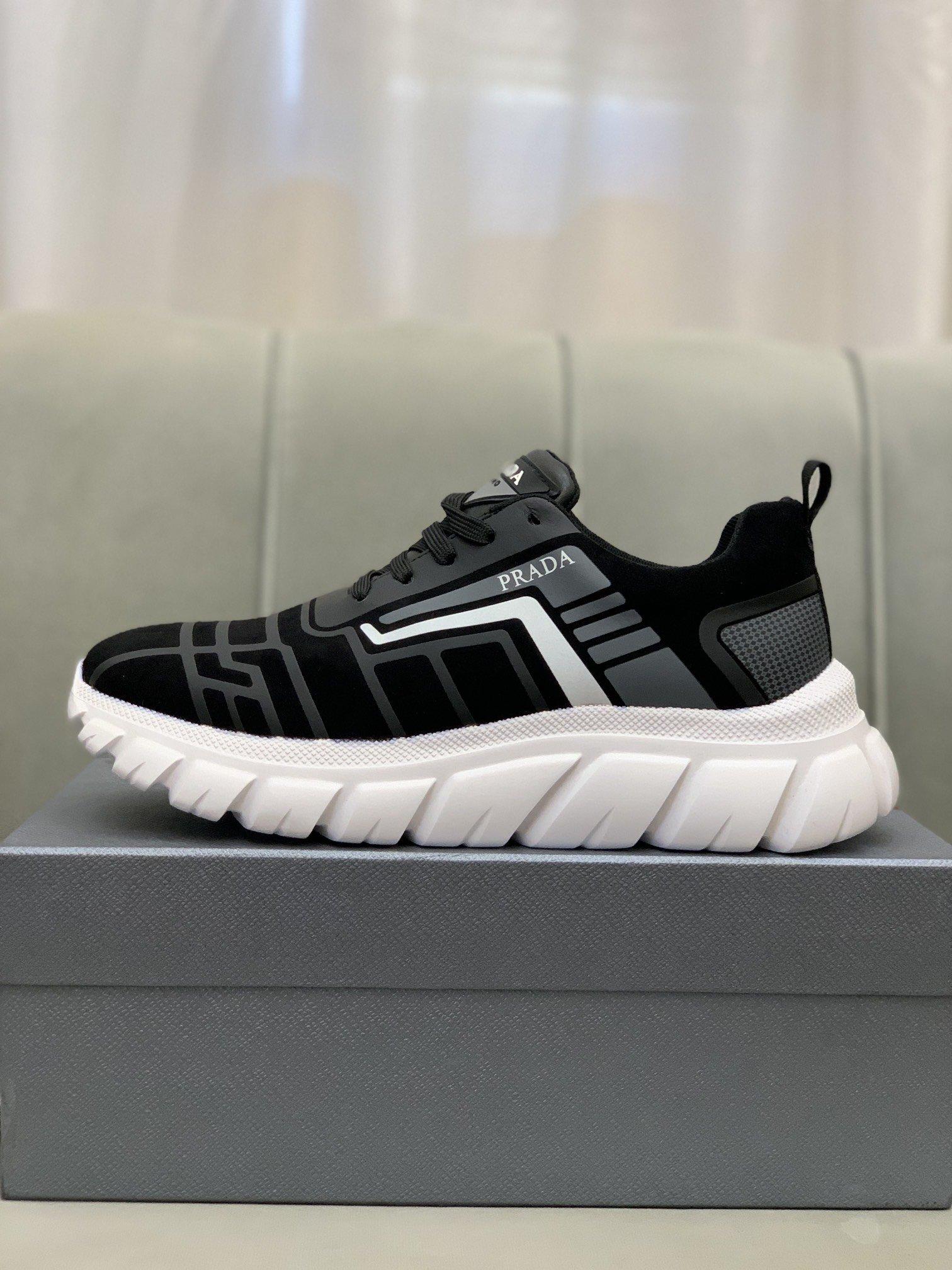 Prad*普拉*低帮运动鞋正码码数: