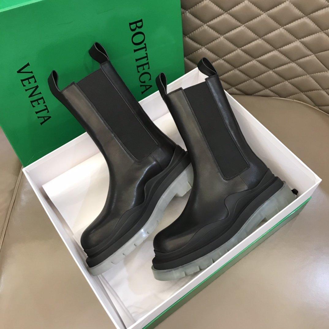 BV经典款情侣款秋冬高帮靴顶级版超级