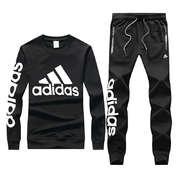 110 一套专柜同款上市本季主打货源充足放心主推高端品质即转即卖品牌Adidas款号17819阿迪卫套颜色黑色 灰色尺码L4X