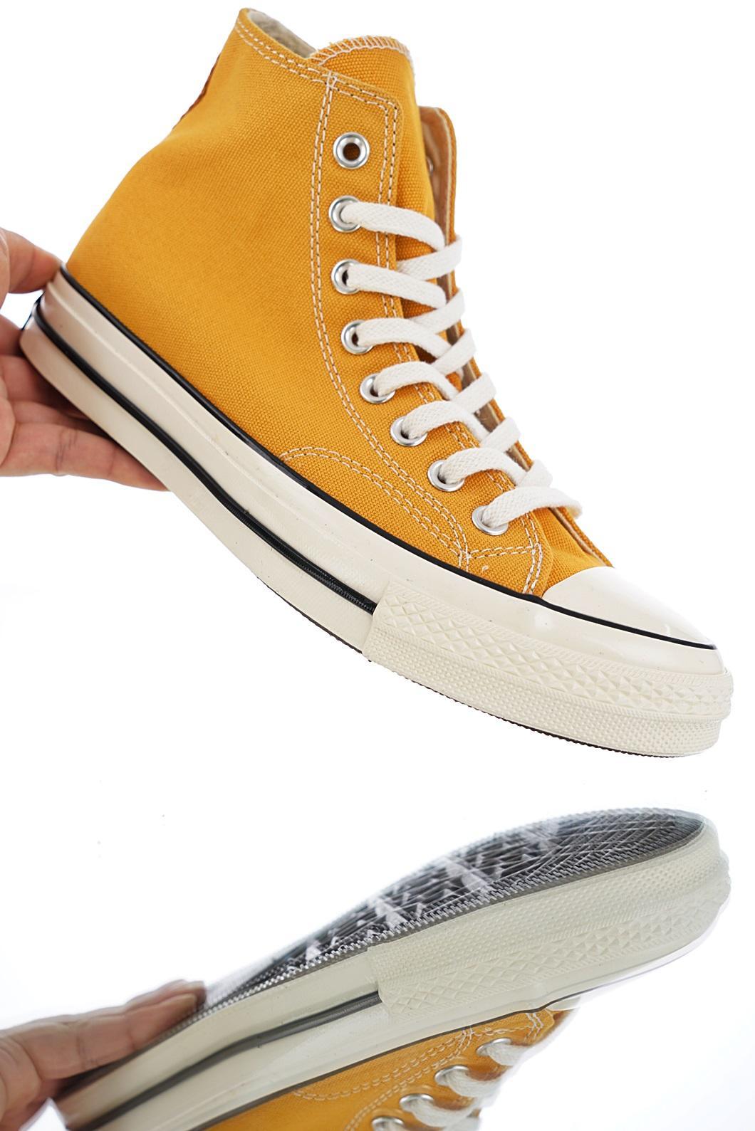 "s标的鞋_匡威Converse 1970s 三星黑标男女复刻高帮帆布鞋系列""立体标复古 ..."