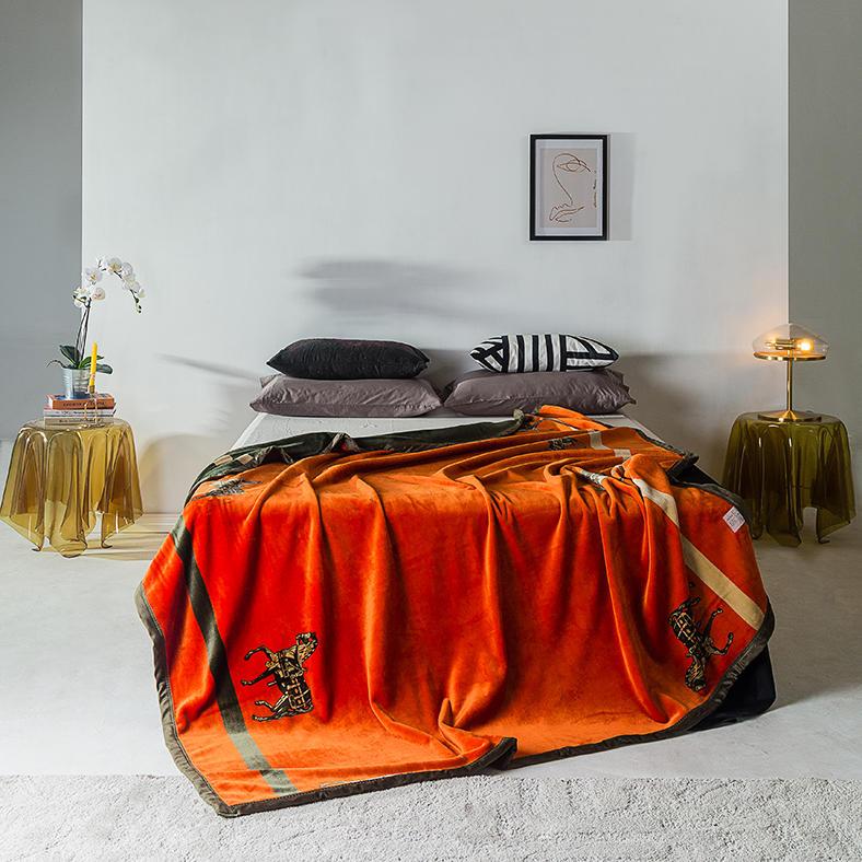 高档复合毛毯12款