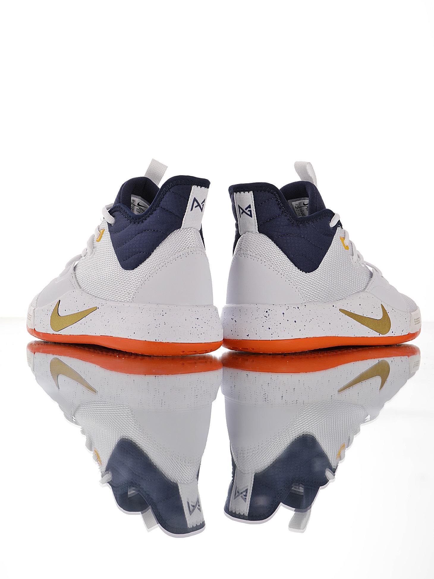 nba球星鞋码_偏小一码,男鞋真标带半码 NBA 球星保罗·乔治的签名鞋 耐克Nike ...