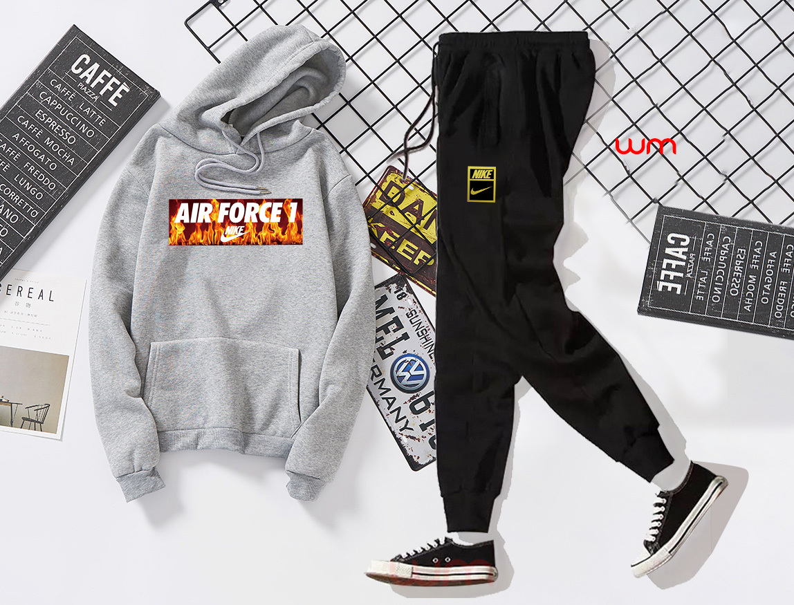 ?P235??? Exclusive New Nike Nike Hooded Set