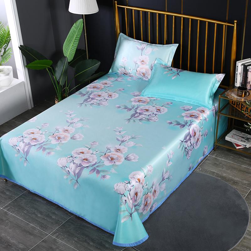 冰丝养生席 三件套-床单款24个花型