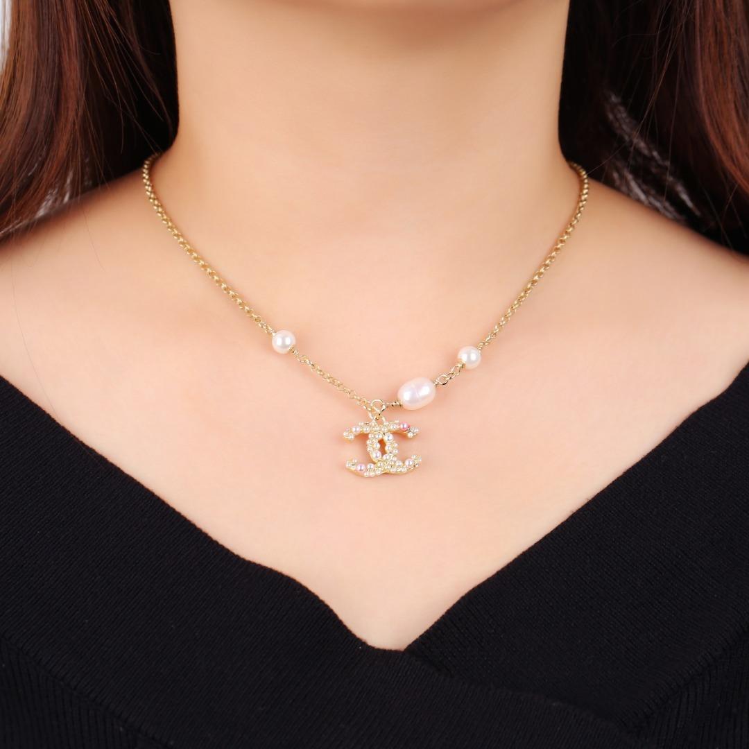小香项链轻奢百搭的一款珍珠项链优雅知