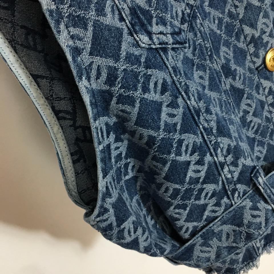 ️Chane*新款小香单排扣腰带收腰