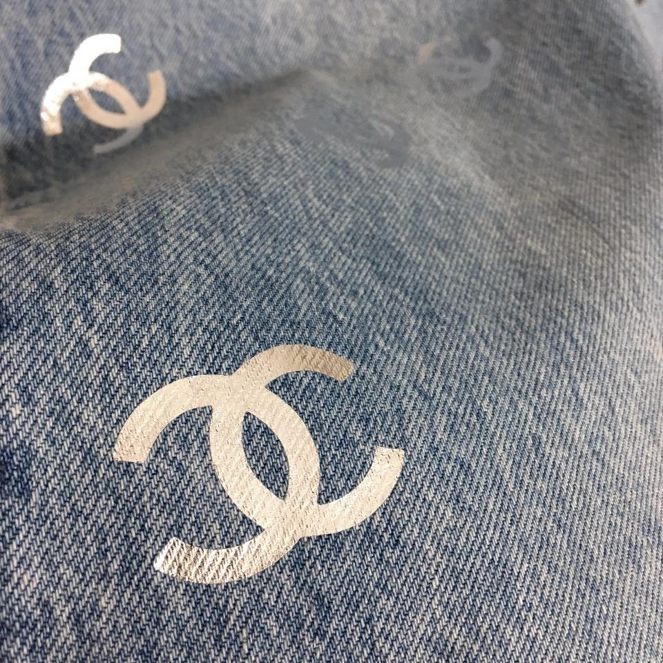 ️Chane*新款小香logo烫金印