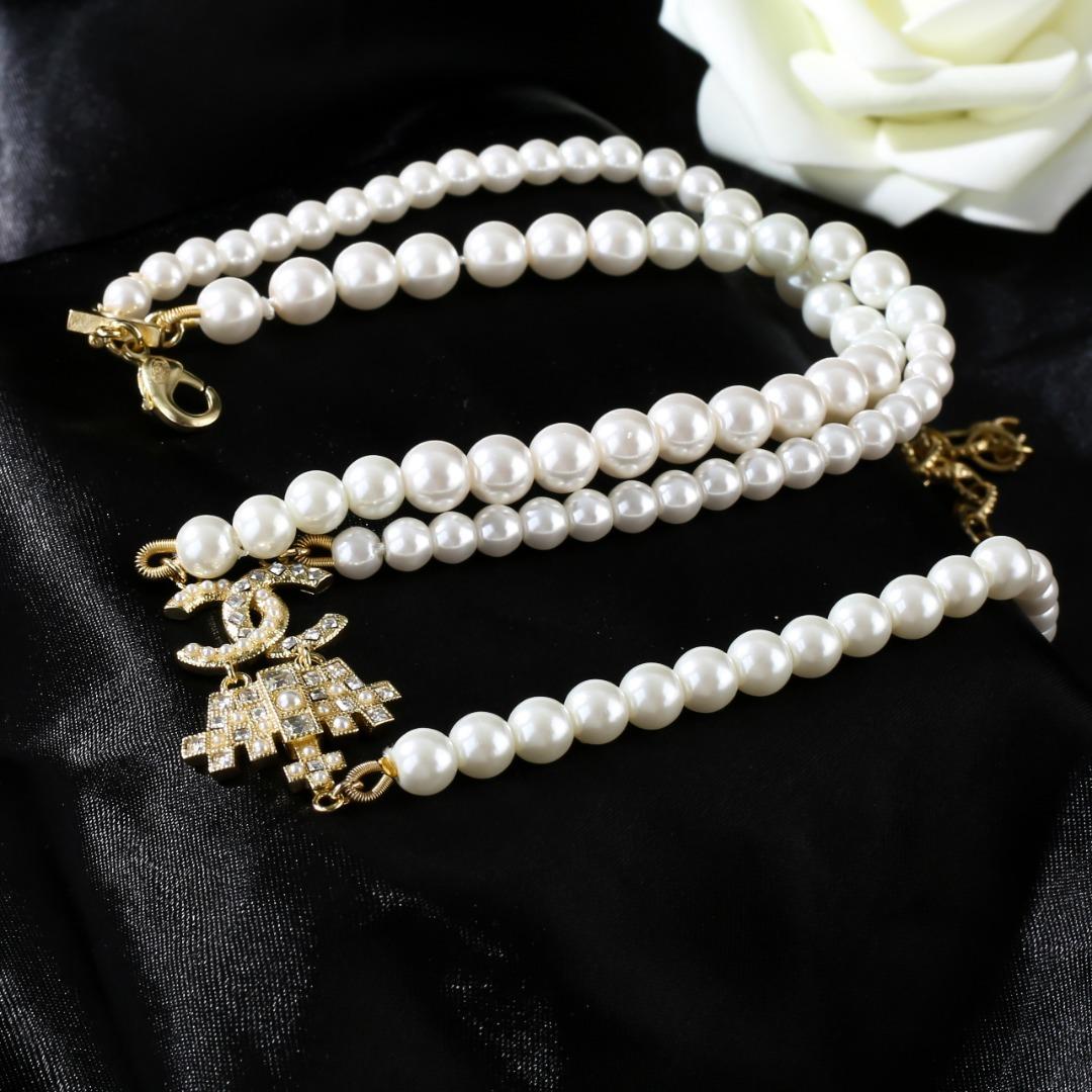 小香Chanel2021新款项链专柜