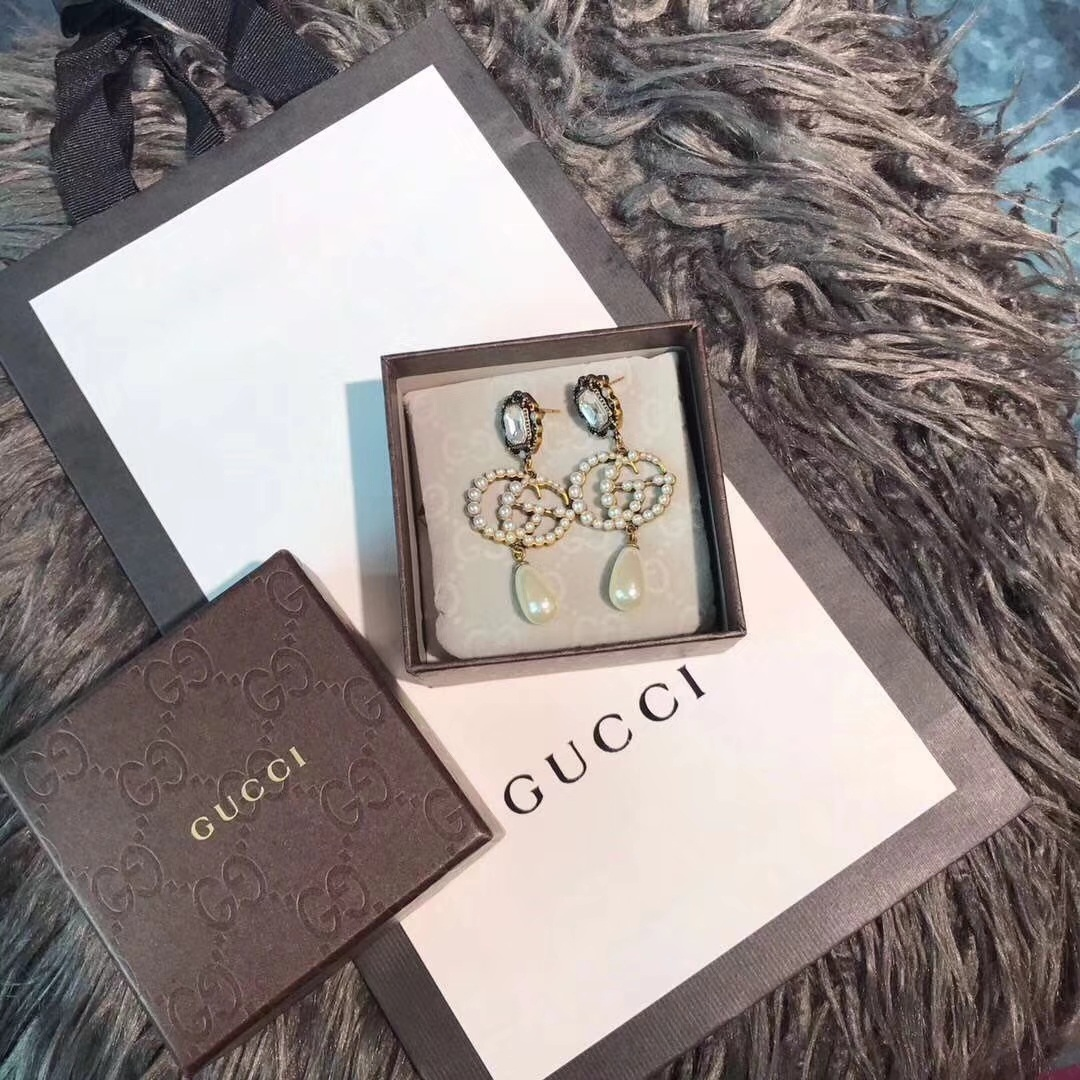 厂家直销新款Gucci古驰方钻双G珍