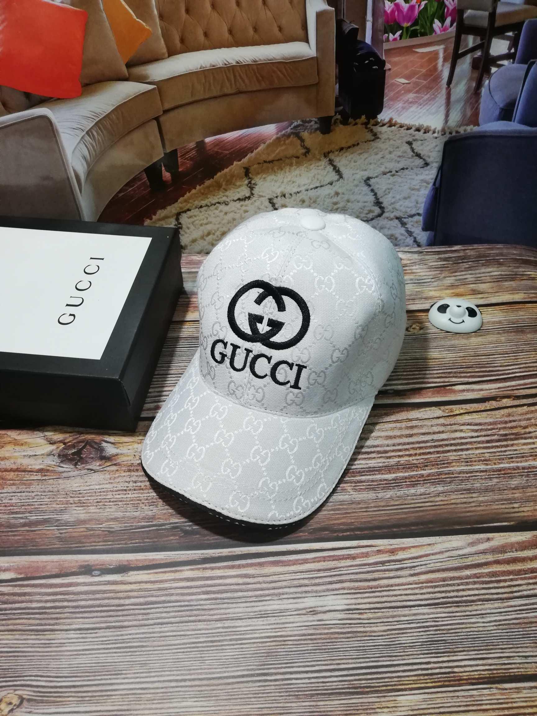古奇Gucci刺绣高端棒球帽(图1)
